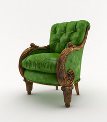 Chair green classic