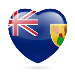 Heart icon of Turks and Caicos Islands