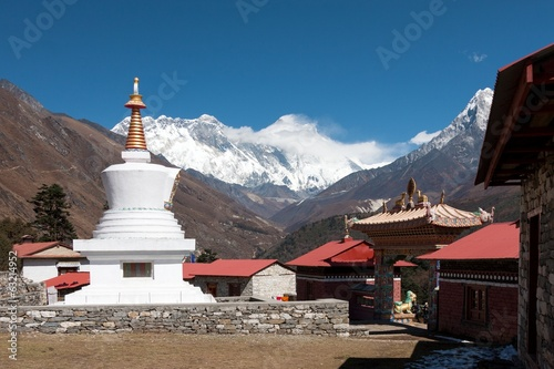 Stupa at Tengboche