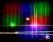 Abstract shiny technology spectrum background.
