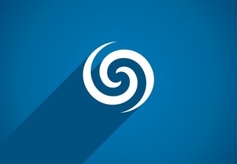Flat icon design element. Abstract logo idea for