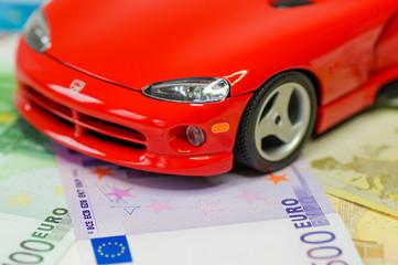 Reichtum, Geld und schnelles Auto