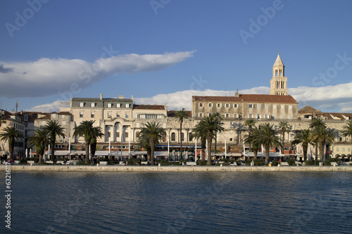 Split, Diocletian palace and St Domnius cathedral