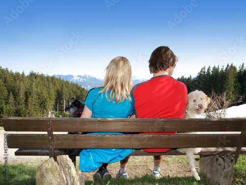 Wandern mit Hunden