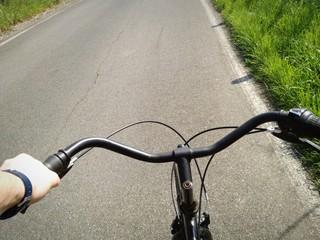 Una passeggiata in bicicletta
