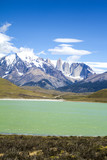 Torres del Paine National Park - Beautiful natural landscape poster
