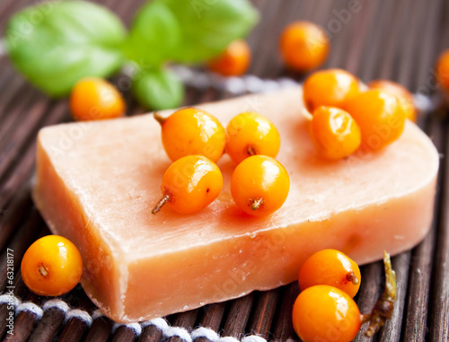 Sea Buckthorn Natural Soap
