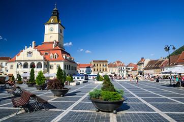 Brasov, Council Square, Romania