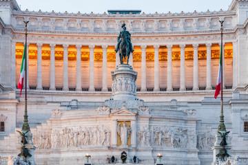 Vittoriano e Milite Ignoto. Piazza Venezia