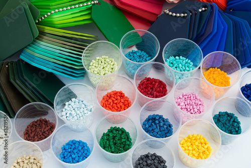 Plastik Polymer Granulat