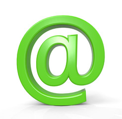 Green mail sign