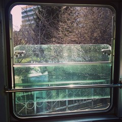 trolley window