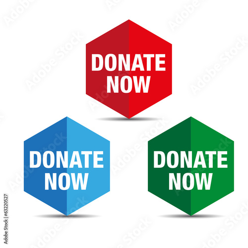 Donate button set