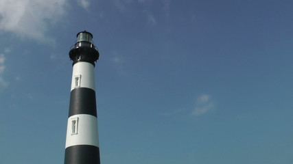 Bodie Island Station Lighthouse close-up