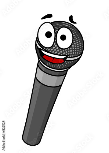 Cartoon handheld microphone