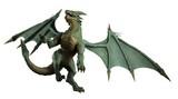 Large Green Dragon - turning