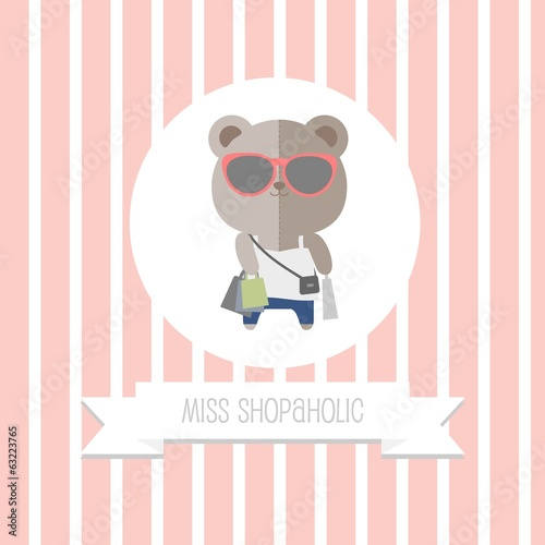 Shopaholic Bear