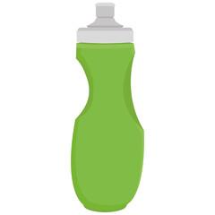 Sport Bottle Illustration Isolated On White Background