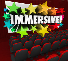 Immersive Movie Entertainment Experience Sensation Viewing
