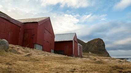 Wolkenformation auf den norwegischen Lofoten