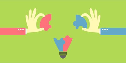 idea bulb jigsaw