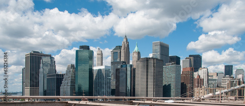 New York City, wonderful Manhattan skyscrapers