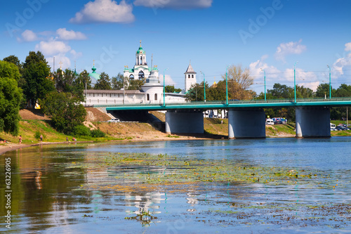 Holy Transfiguration Monastery in Yaroslavl