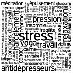 """""""STRESS"""" (santé fatigue surmenage anxiété dépression insomnie)"""
