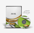 Fashion Traning DVD Case and Disc Vector Design
