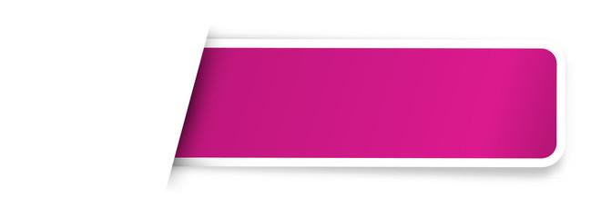the blank purple sticker