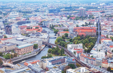 View of Berlin from an observation deck