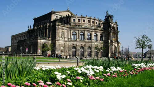 Dresden Semperoper vid 01