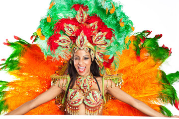 Brazilian Samba Dancer