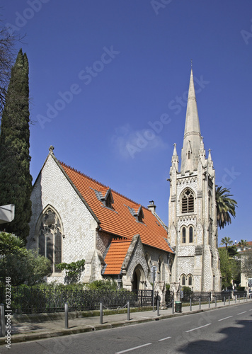 Protestant church in Nice. France