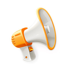 Megaphone, vector illustration