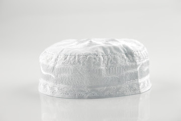 Skull caps are usually worn by Muslim men