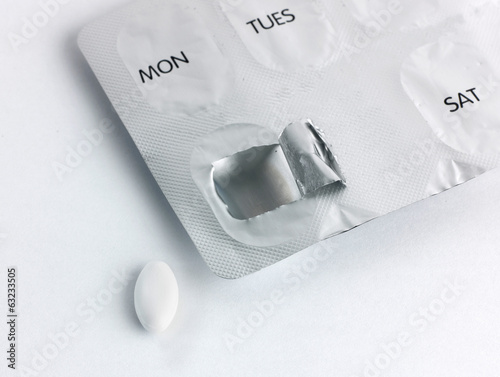 Pill an packet