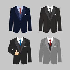 business clothing suit