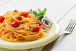 Spaghetti marinara pasta