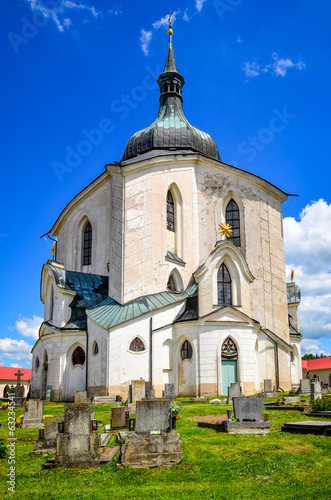 Church of St. John Nepomuk, Zelena Hora, Czech republic