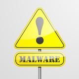 RoadSign Malware poster
