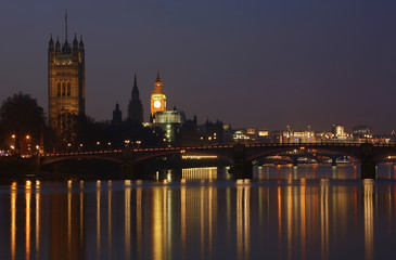 London Skyline, Night