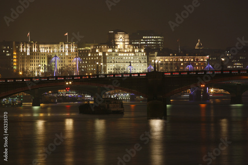 London Skyline, Night