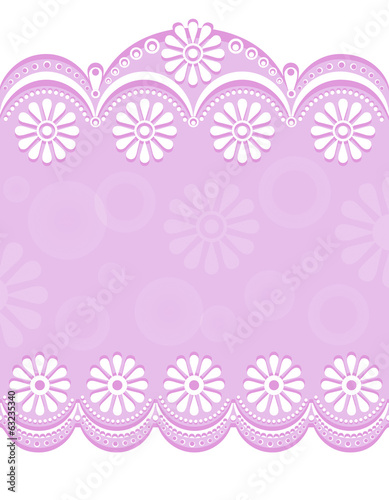 Decorative Border pink_center