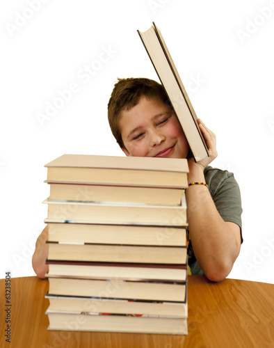 12 year old boy loves books