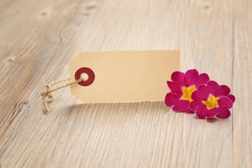 Papier mit Blumen