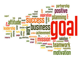 Goal word cloud