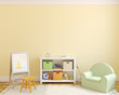 canvas print picture - Interior of playroom.