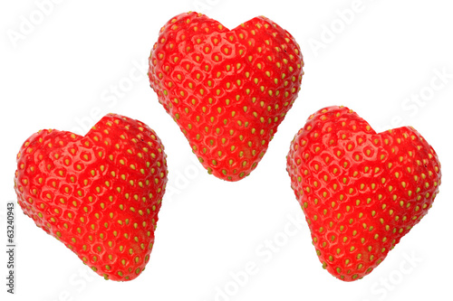 background of the strawberry