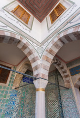 Detail of Harem Courtyard